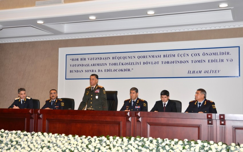 DİN-də istintaq və təhqiqat qurumları əməkdaşlarının respublika toplantısı keçirilib - FOTO