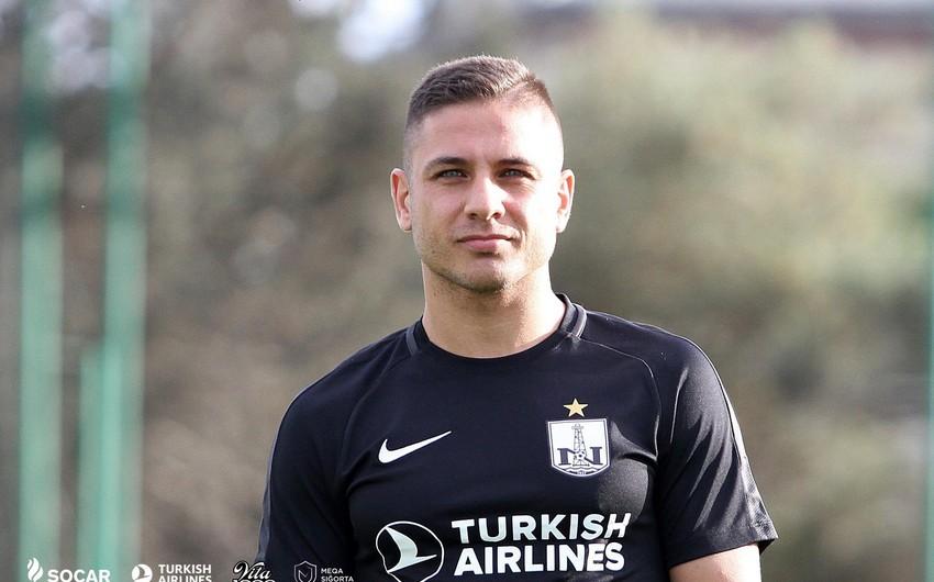 Yunanıstanlı futbolçu: Neftçi Çempionlar Liqasında qrupa can atır