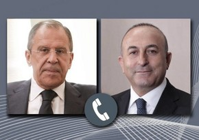 Foreign ministers of Turkey, Russia moot situation on frontline