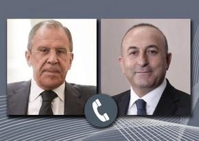 Главы МИД Турции и России обсудили ситуацию в Карабахе