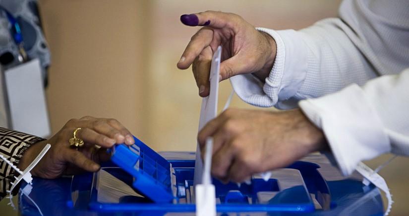 Проживающие в Азербайджане граждане Ирана голосуют на выборах президента