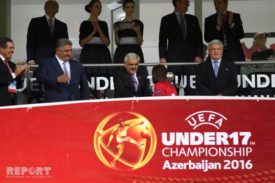 Португалия стала чемпионом Европы 2016 года среди команд U17