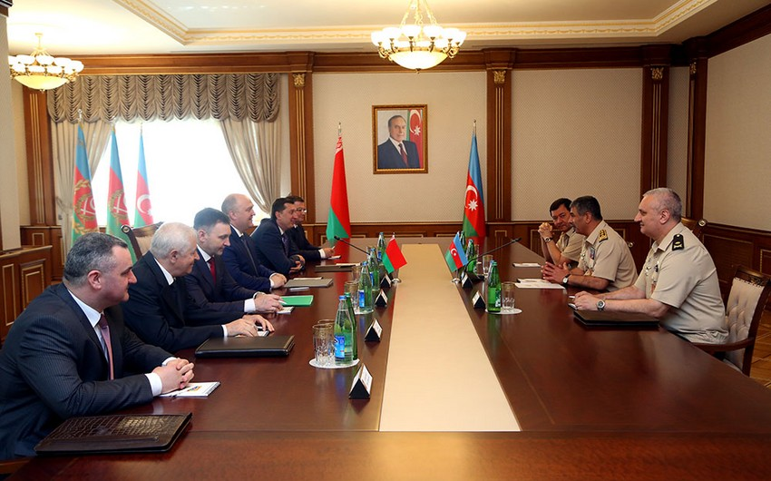 Azerbaijan and Belarus discussed prospects for development of military-technical cooperation