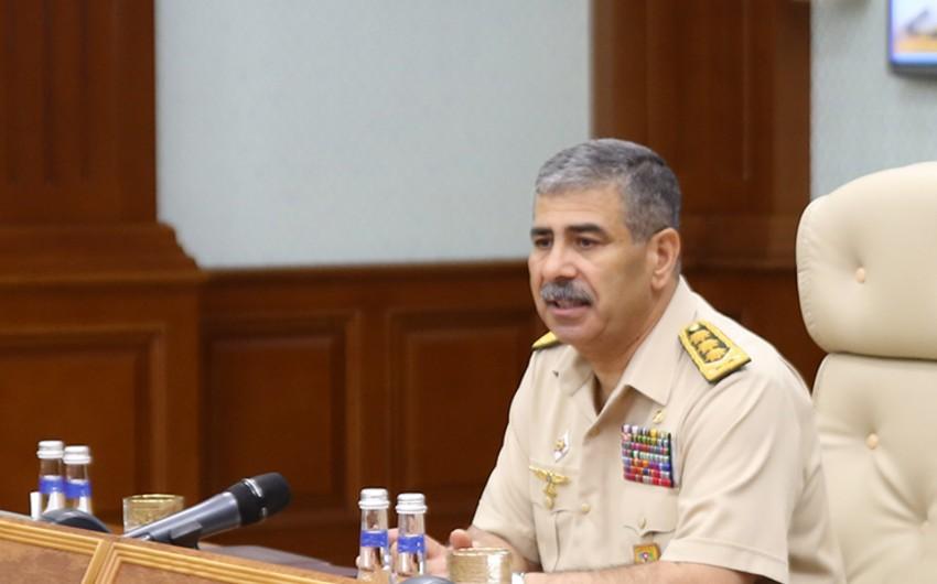Закир Гасанов поручил адекватно отвечать на армянские провокации