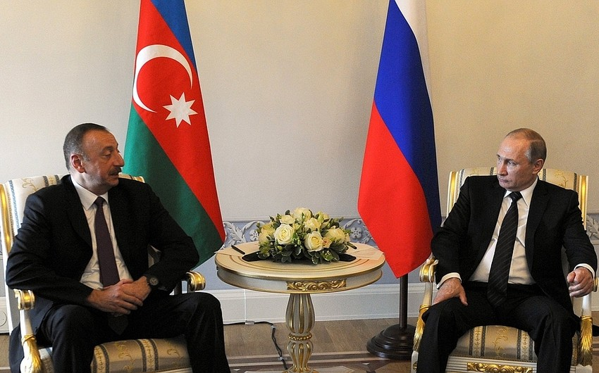 Vladimir Putin Azərbaycan Prezidentinə başsağlığı verib