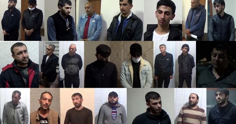 Polis əməliyyat keçirib, 34 kq narkotik aşkarlanıb, 23 nəfər saxlanılıb
