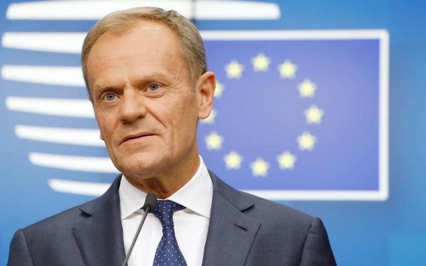 Donald Tusk: Avropa İttifaqı ilə Azərbaycan arasında yeni saziş üzrə danışıqlar başa çatmaq üzrədir