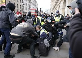 В Лондоне на акциях протеста задержали более 25 человек