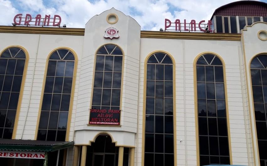 Balakəndə şadlıq sarayının sahibi barəsində cinayət işi başlanılıb