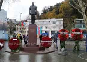 İstanbulda Heydər Əliyevin vəfatının ildönümü ilə bağlı anım mərasimi keçirilib