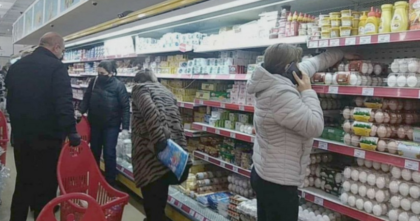 Food prices rise sharply in Armenia