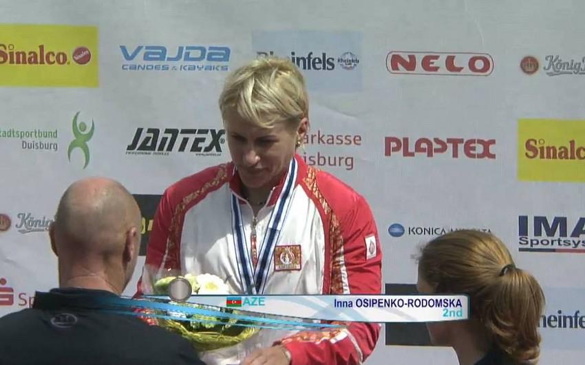 Azərbaycan kayakçısı Dünya Kubokunda gümüş medal qazanıb