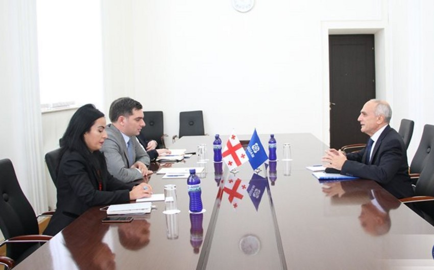 Meeting held with GUAM Secretary General in Georgian Foreign Ministry
