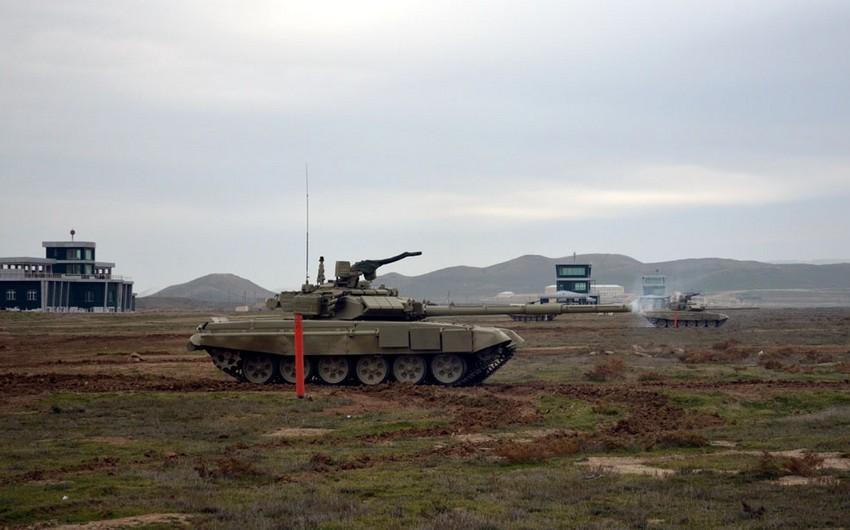 Cadets of Azerbaijan High Military School conduct training firings