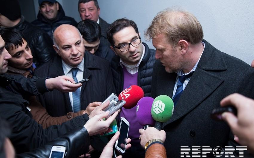 Robert Prosineçki: Azərbaycanlı futbolçuların yaxşı oyunu məni sevindirdi