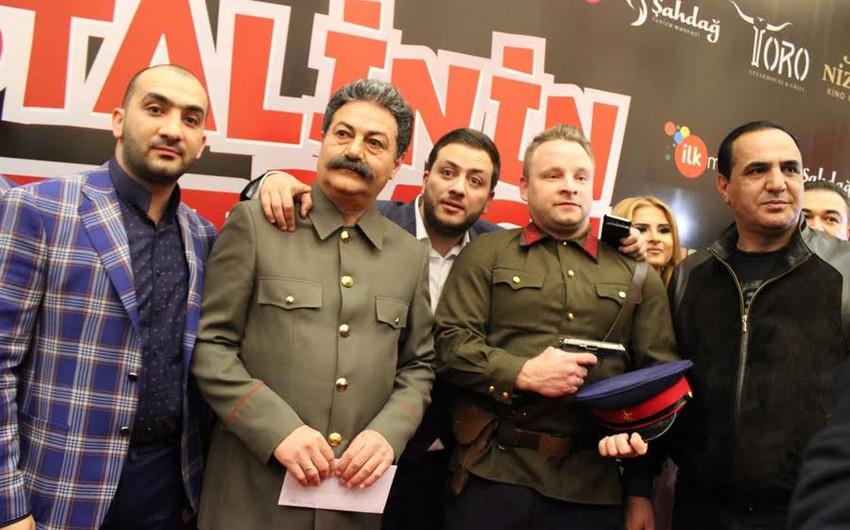 """""""Stalinin başı"""" komediya filmininin premyerası olub - VİDEO"""
