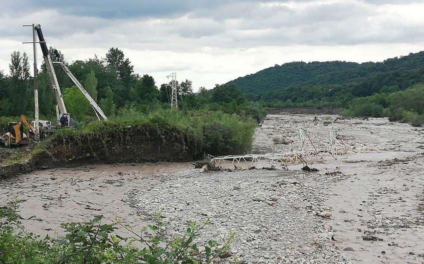 Şimal bölgəsində leysan yağışlarının törətdiyi fəsadlar aradan qaldırılıb - YENİLƏNİB