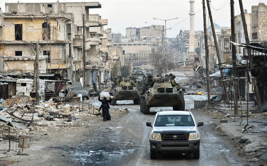 Car blast in Syria kills 4 Russian servicemen, injures 2