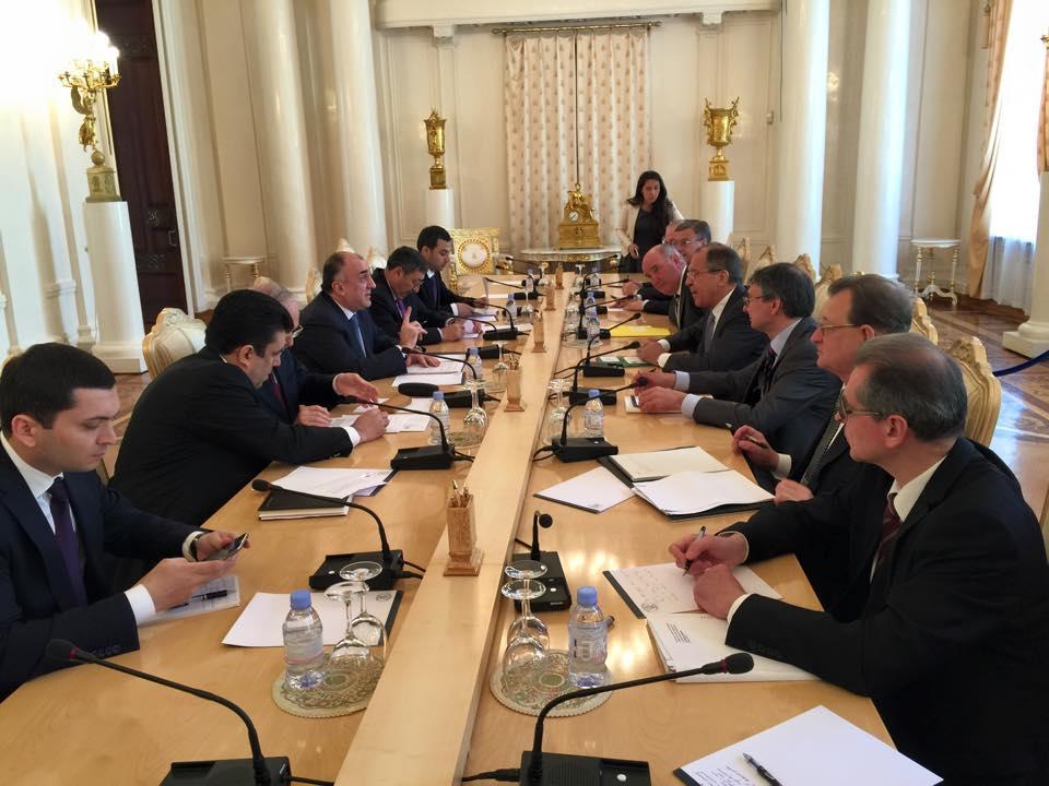 В Москве состоялась встреча глав МИД Азербайджана и России - ДОПОЛНЕНО