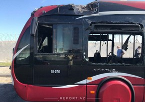 Пожаром в автобусе BakuBus займется комиссия