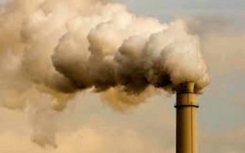 2014-də atmosferə buraxılan karbon qazının həcmi dəyişməyib