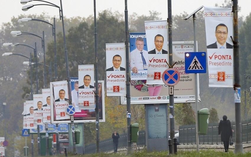 Rumıniyadakı prezident seçkilərində ölkənin baş naziri Viktor Ponta liderlik edir