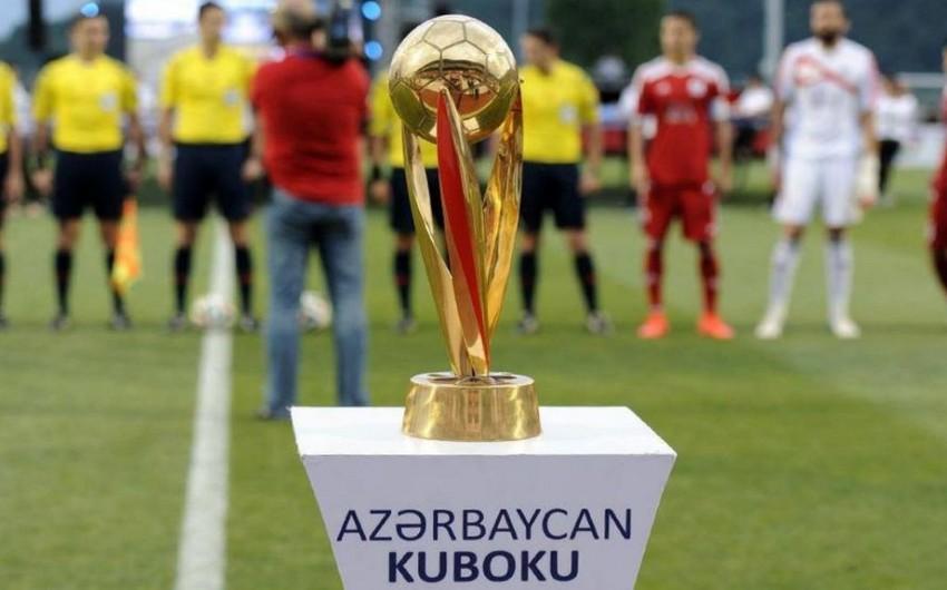 Azərbaycan Kuboku: İlk yarımfinal oyunlarının saatı açıqlanıb