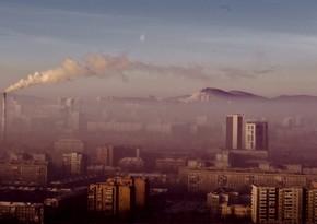 Krasnoyarskda növbəti dəfə qara səma rejimi elan edilib