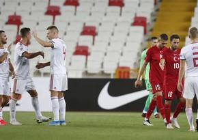 UEFA Millətlər Liqası: Türkiyə evdə Macarıstana uduzdu