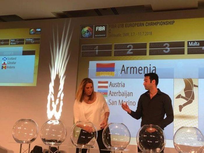 Azerbaijani and Armenian teams in same qualifying group at European Championship