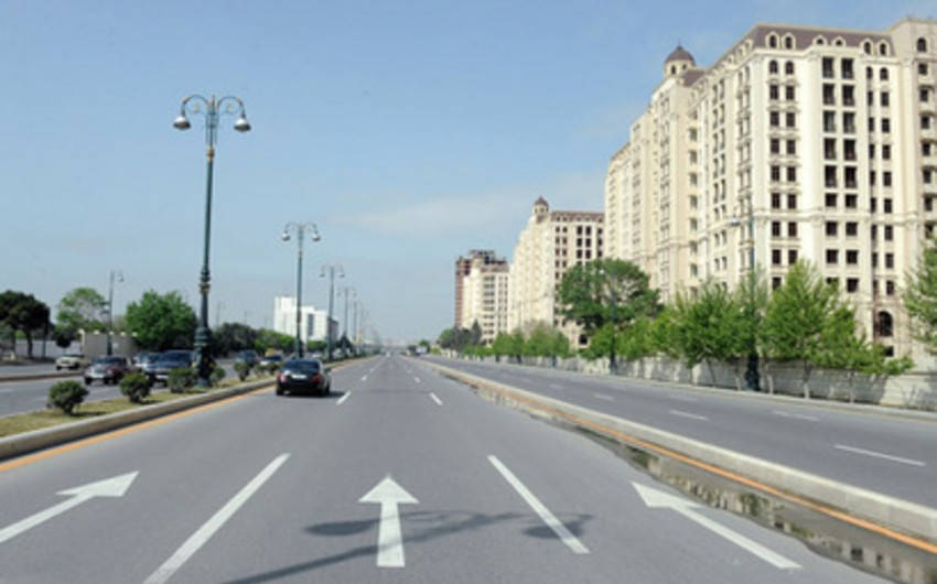 В день закрытия Баку-2015 будут перекрыты некоторые дороги
