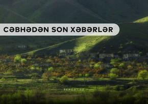 Cəbhədən son xəbərlər: İşğaldan yeni azad edilən ərazilərin görüntüləri