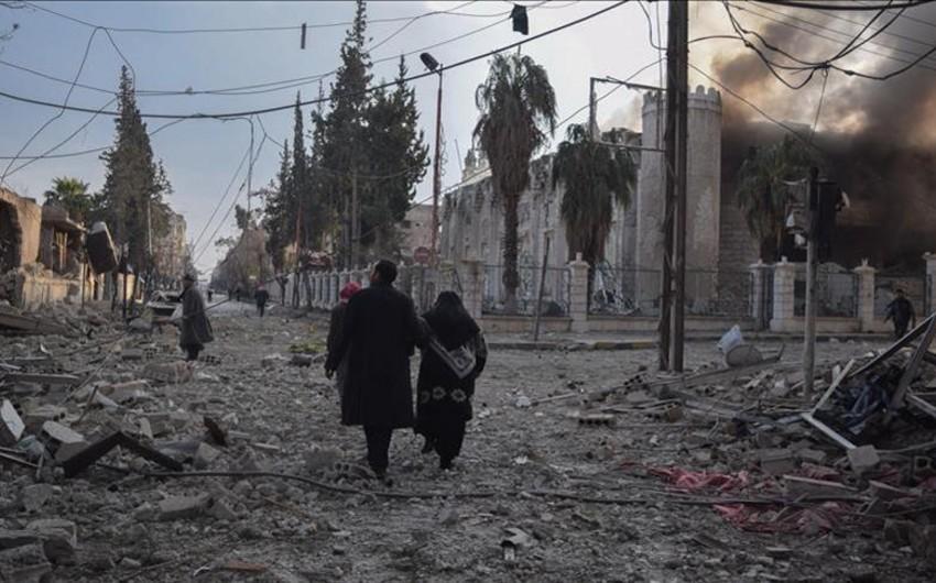 Suriyada yaşayış məntəqəsi atəşə tutulub, 8 hərbçi yaralanıb
