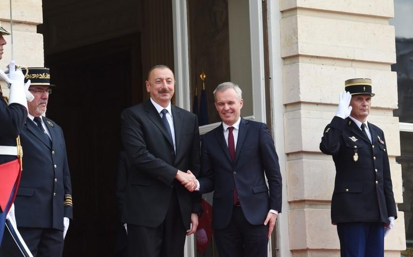 Prezident İlham Əliyevin Fransa Milli Assambleyasının sədri ilə görüşü olub - YENİLƏNİB