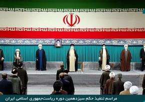 İranın yeni Prezidenti and içib