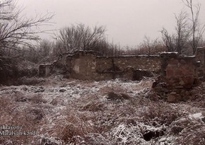 Освобожденное от оккупации село Ашагы Маралйан Джабраильского района