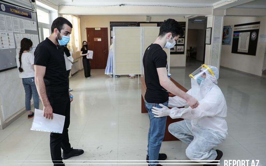 Exams during coronavirus pandemic - PHOTO REPORT
