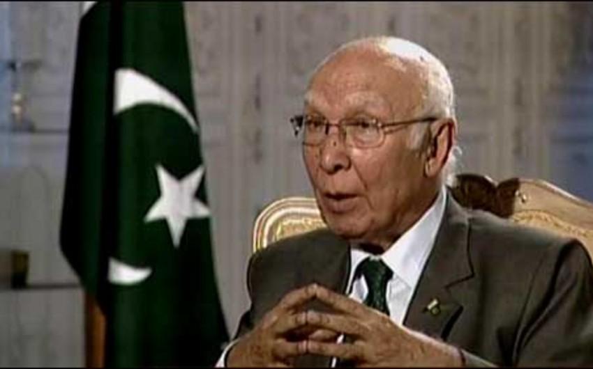 Pakistanın baş nazirin müşaviri Elmar Məmmədyarova təşəkkür məktubu göndərib