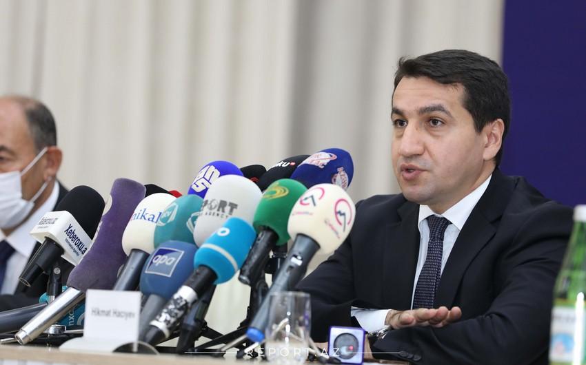 Гаджиев: Доказаны военные преступления руководства Армении против Азербайджана