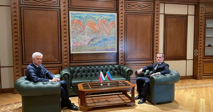 Azərbaycan və Slovakiya XİN başçılarının görüşü başa çatıb