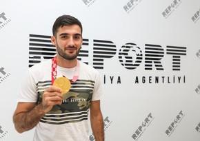 """Paralimpiya çempionu: """"Birinci yarışda uduzmağım bugünkü qalibiyyətim üçün başlanğıc oldu"""""""