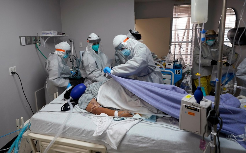 ABŞ-da bir gündə 1 663 nəfər virusdan ölüb