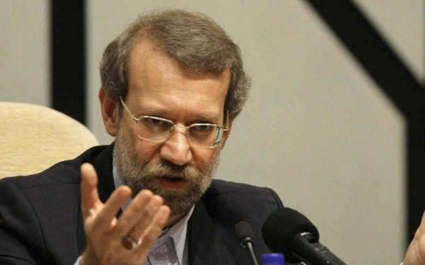 İran parlamentinin spikeri: Biz Qarabağda müharibənin başlamasına imkan verməməliyik
