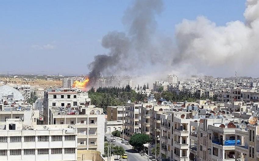 Suriya müxalifəti İdlibdən ağır texnikanı çıxarmağa başlayıb