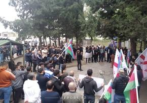 Gürcüstanda Azərbaycana növbəti dəstək aksiyası keçirilib