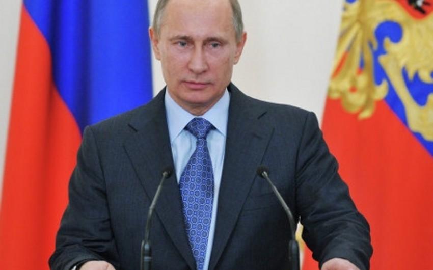 Putin: KTMT-nin tədbirində Qarabağ probleminin həllində güzəştlərin axtarılmasının vacibliyi müzakirə edilib