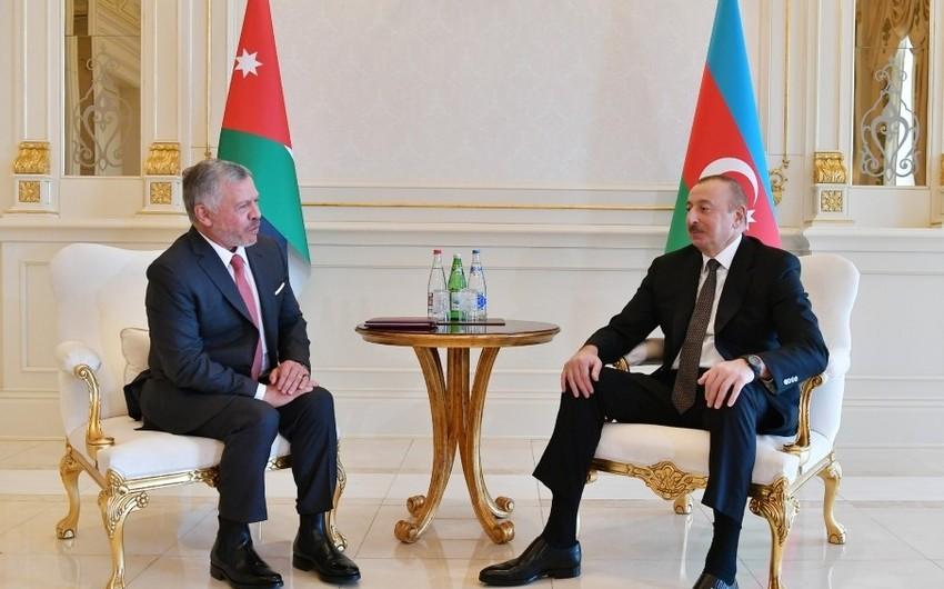 Состоялась встреча президента Азербайджана с королем Иордании один на один - ОБНОВЛЕНО