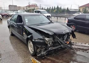 Авария на дороге Баку-Губа