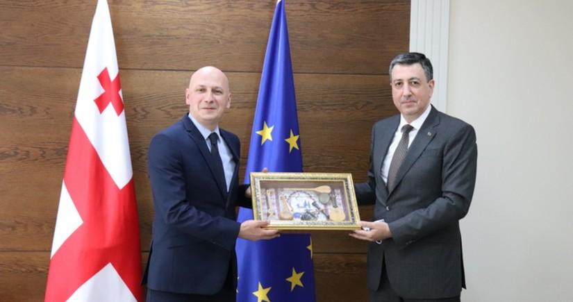 Azərbaycan Gürcüstanla dini sahədə əməkdaşlığı müzakirə edib