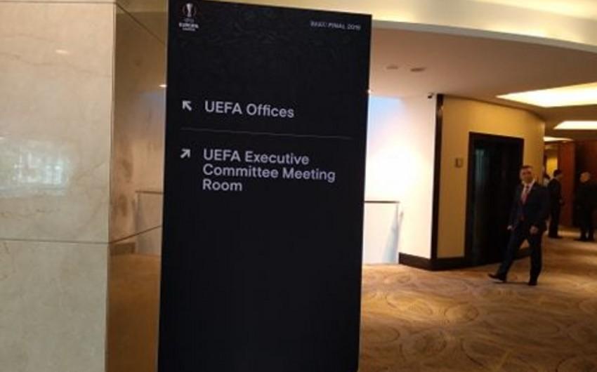 Bakıda UEFA İcraiyyə Komitəsinin iclası başlayıb